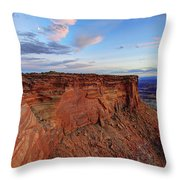 Canyonlands Delight Throw Pillow by Chad Dutson
