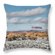 Canyonlands Throw Pillow