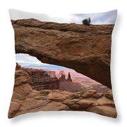 Canyonlands National Park Arch Throw Pillow