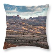 Arches National Park - Morning Throw Pillow