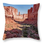 Arches National Park, Moab, Utah Throw Pillow