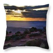 Canyonlands Sunset Throw Pillow