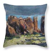 Canyonlands Utah Throw Pillow
