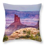 Canyonlands Utah Views Throw Pillow