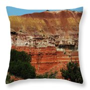 Canyon's Palette Throw Pillow