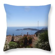 Cap Ferrat Throw Pillow