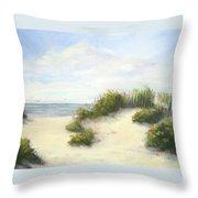Cape Afternoon Throw Pillow by Vikki Bouffard