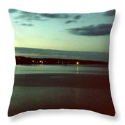 Cape Ann Sunset Throw Pillow