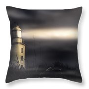 Cape Bruny Lighthouse Throw Pillow
