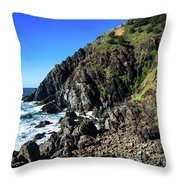 Cape Byron  Throw Pillow
