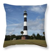 Cape Canaveral Florida Light Throw Pillow