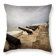 Cape Coast Castle Throw Pillow