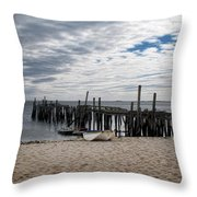 Cape Cod Bay Throw Pillow