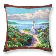Cape Cod Beauty Throw Pillow
