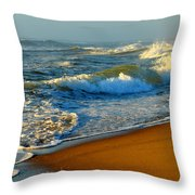 Cape Cod By The Sea Throw Pillow