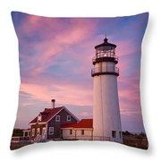 Cape Cod Light Throw Pillow
