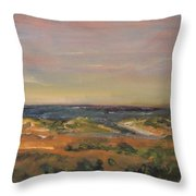 Cape Cod Marsh Throw Pillow