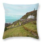 Cape Cornwall Throw Pillow