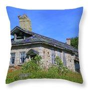 Cape Croker Schoolhouse, Ontario, Canada Throw Pillow