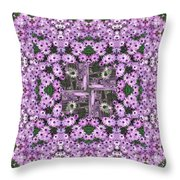 Cape Daisies Throw Pillow