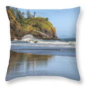 Cape Disappointment - Vertical Throw Pillow