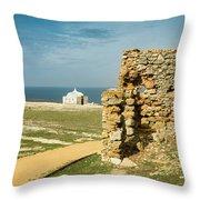 Cape Espichel  Throw Pillow