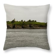 Cape Flattery Lighthouse Throw Pillow