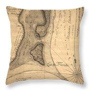 Cape Florida 1765 Throw Pillow