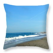 Cape Isolation Throw Pillow