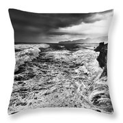 Cape Kiwanda Storm Throw Pillow