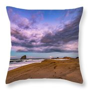 Cape Kiwanda Sunrise Throw Pillow