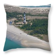 Cape Lookout 6 Throw Pillow