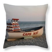 Cape May Calm Throw Pillow