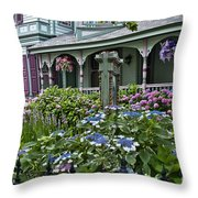 Cape May House And Garden. Throw Pillow