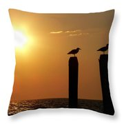 Cape May Morning Throw Pillow