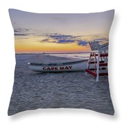 Cape May Mornings Throw Pillow