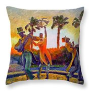 Cape Minstrels Throw Pillow