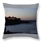 Cape Neddick In Maine Throw Pillow