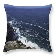 Cape Point, South Africa Throw Pillow