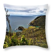 Cape Reinga North Island New Zealand Throw Pillow
