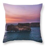 Cape Sagres Viewpoint Throw Pillow
