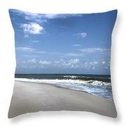 Cape San Blas Throw Pillow