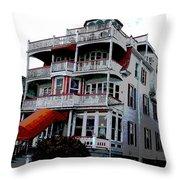 Cape Scape B Throw Pillow