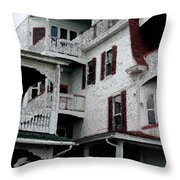 Cape Scape F Throw Pillow