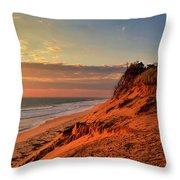 Cape Sunrise Sands Throw Pillow