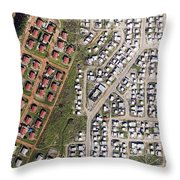 Cape Town Is Booming In All Directions Throw Pillow