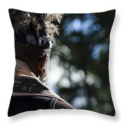Cape Town Street Chief Throw Pillow