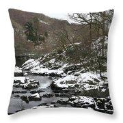 Capel Curig Throw Pillow
