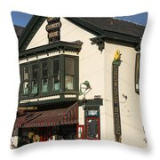 Capppy's Chowder House Throw Pillow