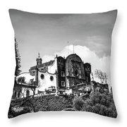 Capilla Del Cerrito - Basilica De Guadalupe - Mexico City I Throw Pillow